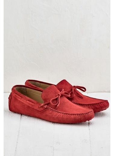 Elle Loafer Ayakkabı Kırmızı
